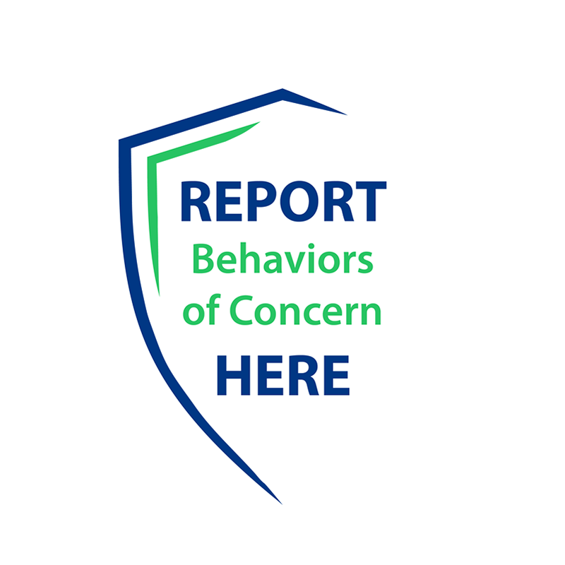 Click to Report Behaviors of Concern