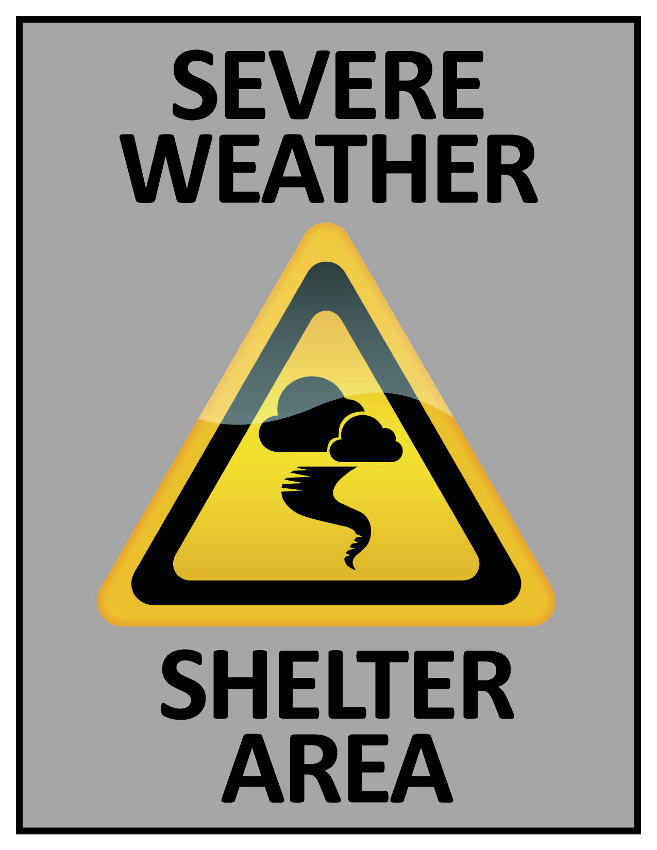 Severe Weather Shelter Area Image