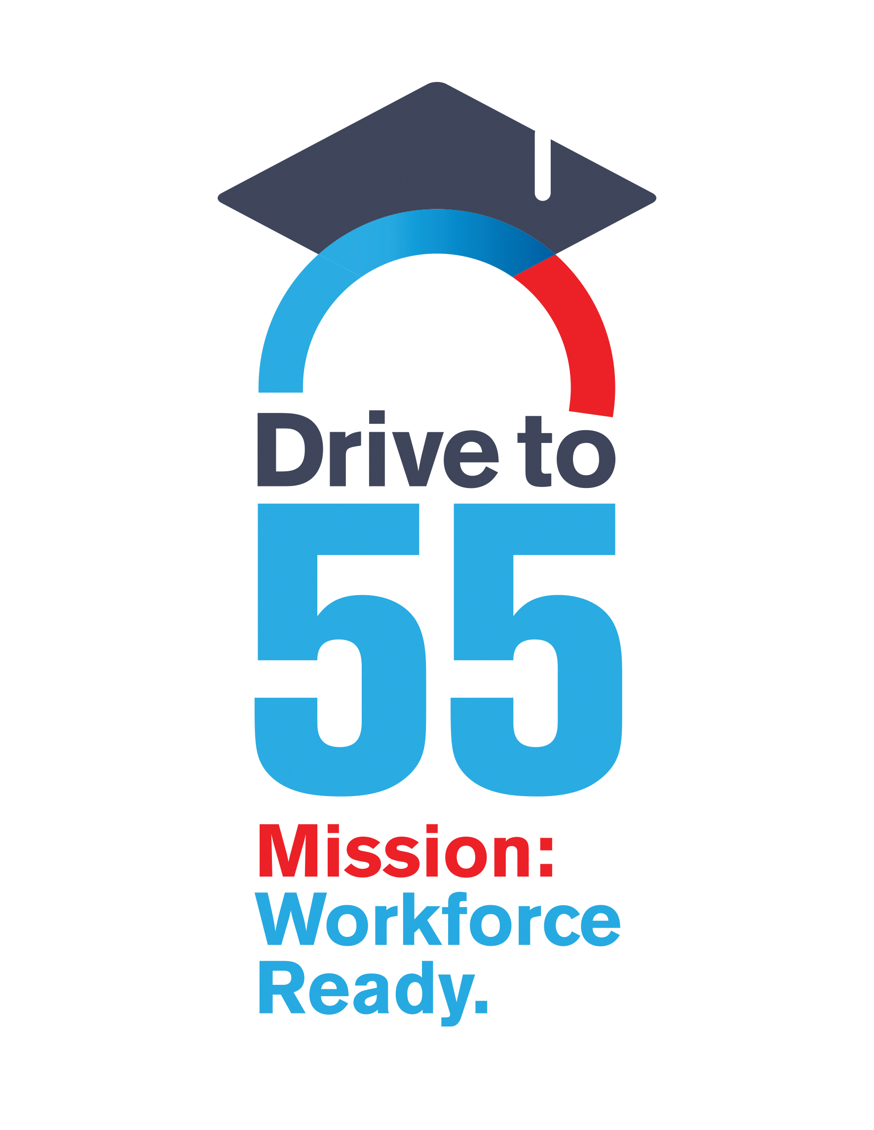 Drive to 55 Logo